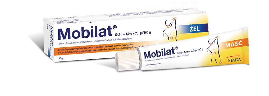 Maść i żel Mobilat